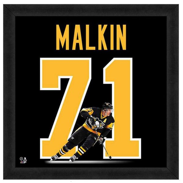 sports shoes fa927 b575d Pittsburgh Penguins Evgeni Malkin 20″ x 20″ Uniframe ...